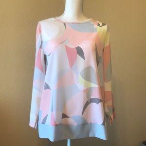 Basler designer spring crepe blouse